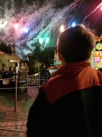Disneyland Christmas Fireworks